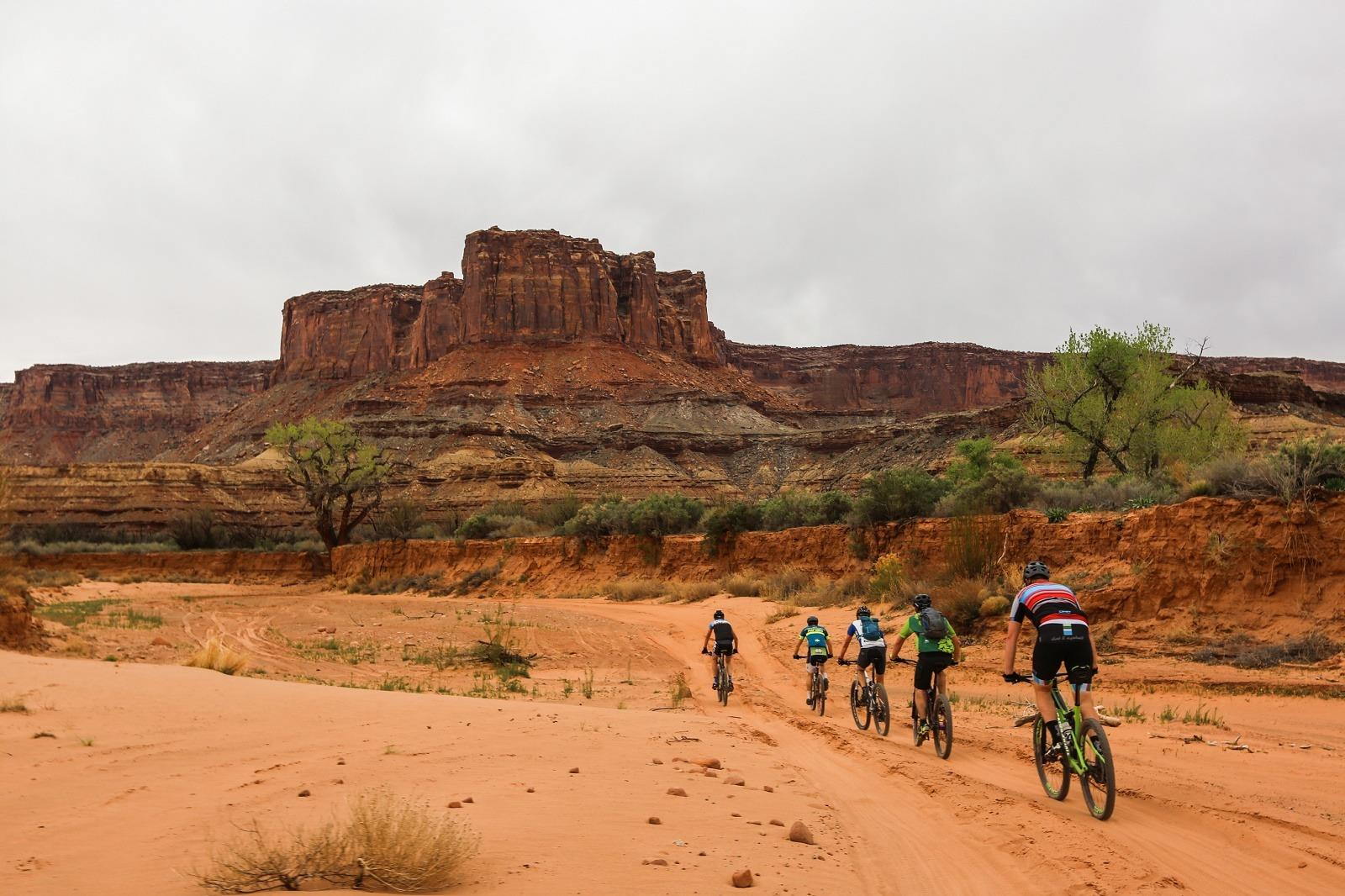 mountain biking national park usa