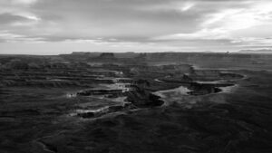Canyonlands National Park: Black and White