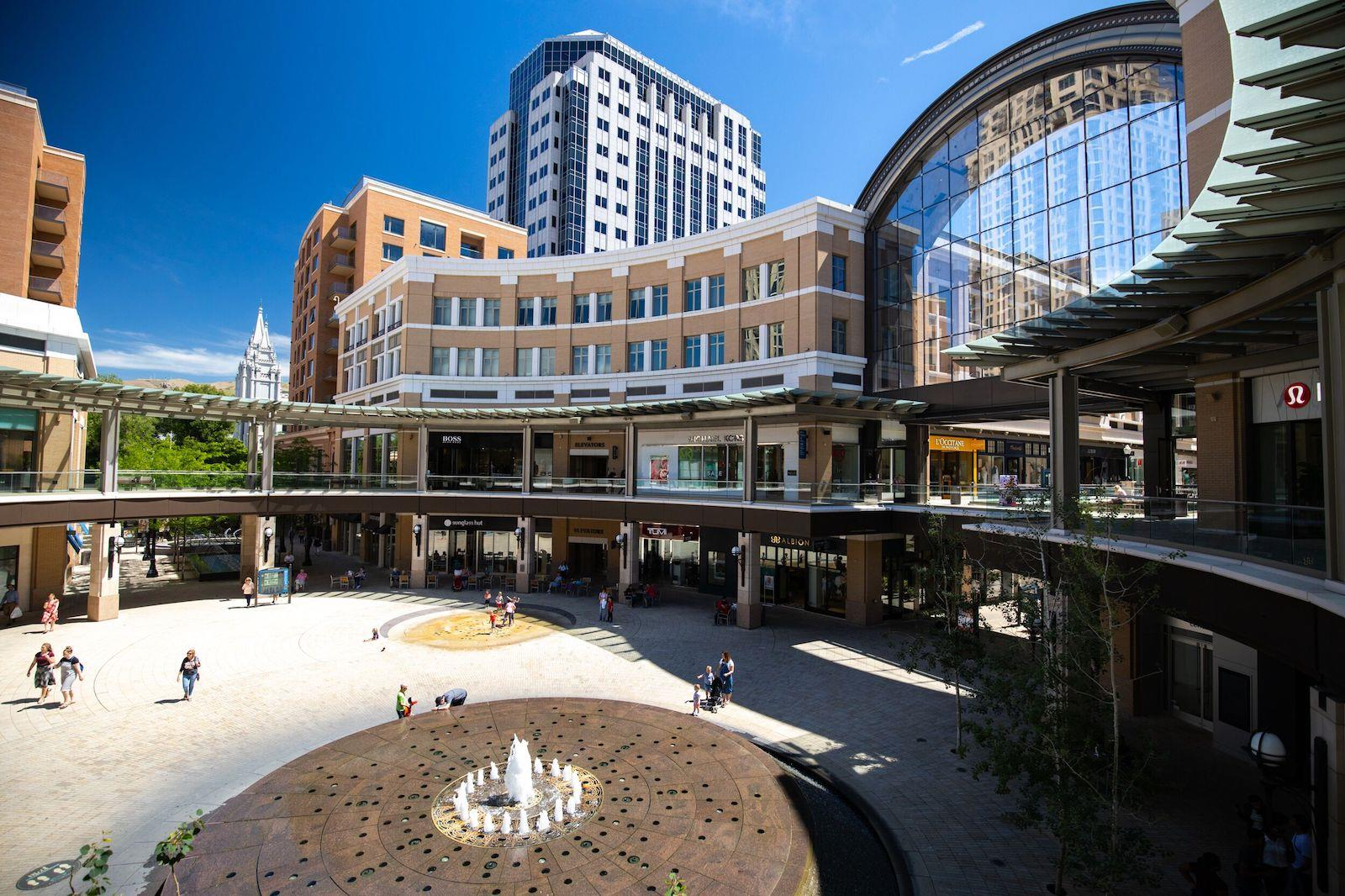 City Creek from outside
