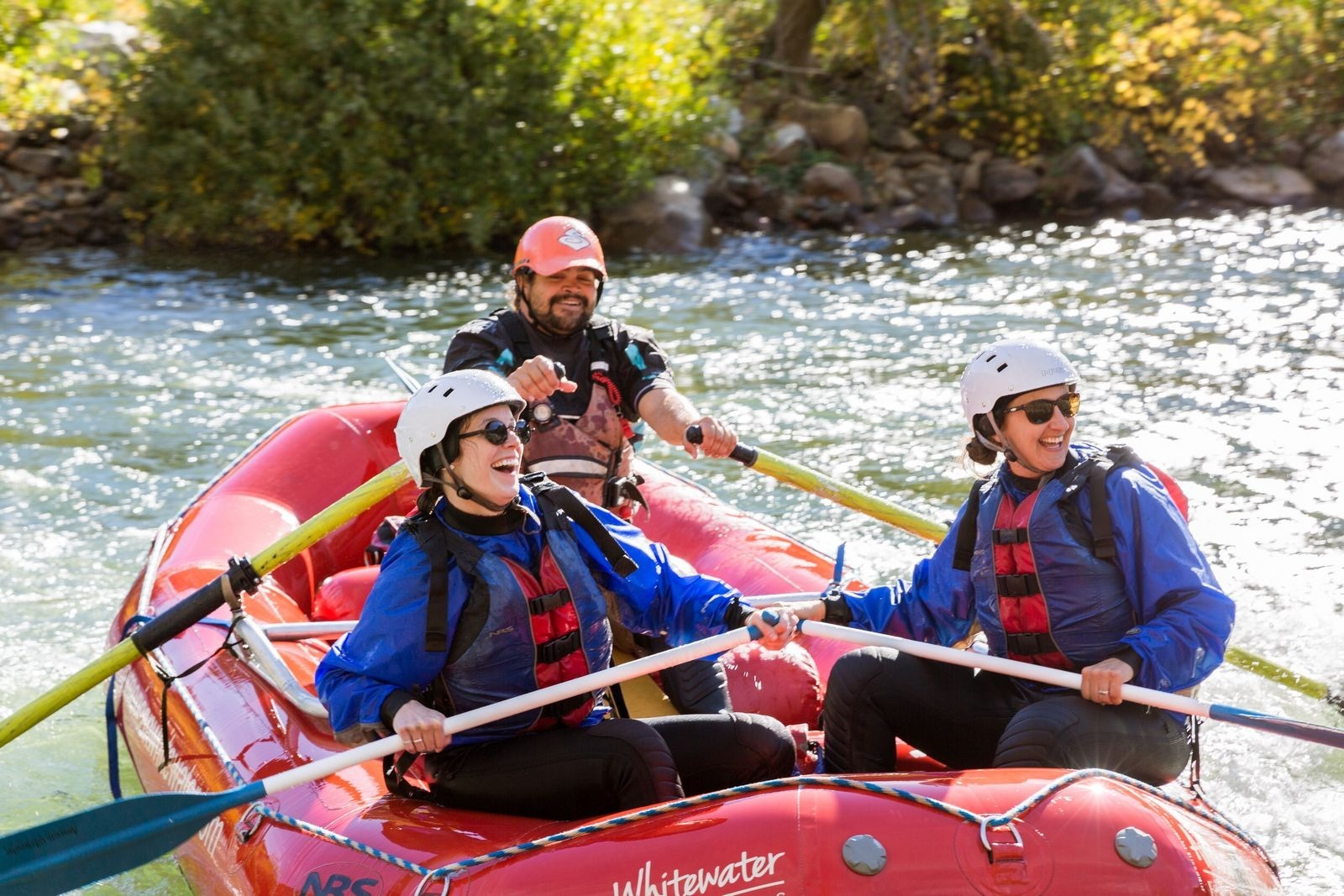 Whitewater rafting in Coloma, California