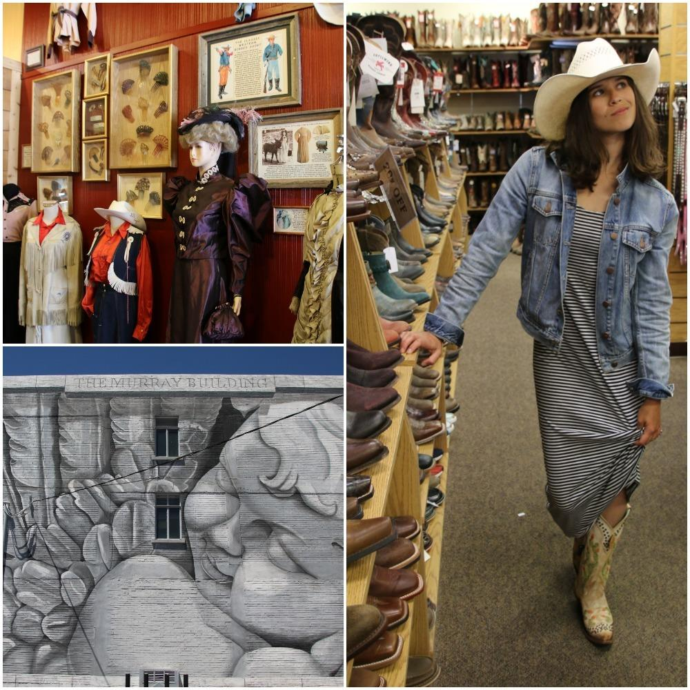 downtown cheyenne, things to do in cheyenne wyoming, cowboy boots, cowboy hats, cowgirl museum