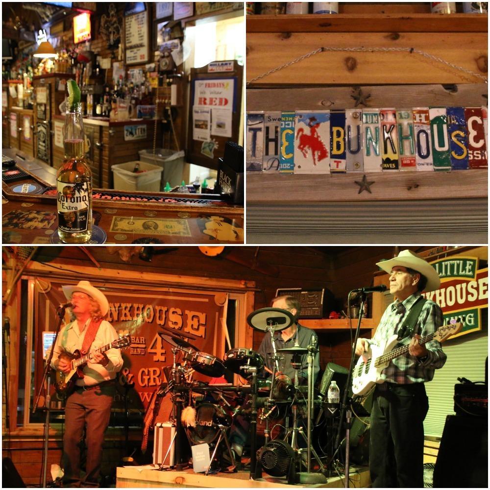bunkhouse bar, country dancing, cowboy bar, wyoming