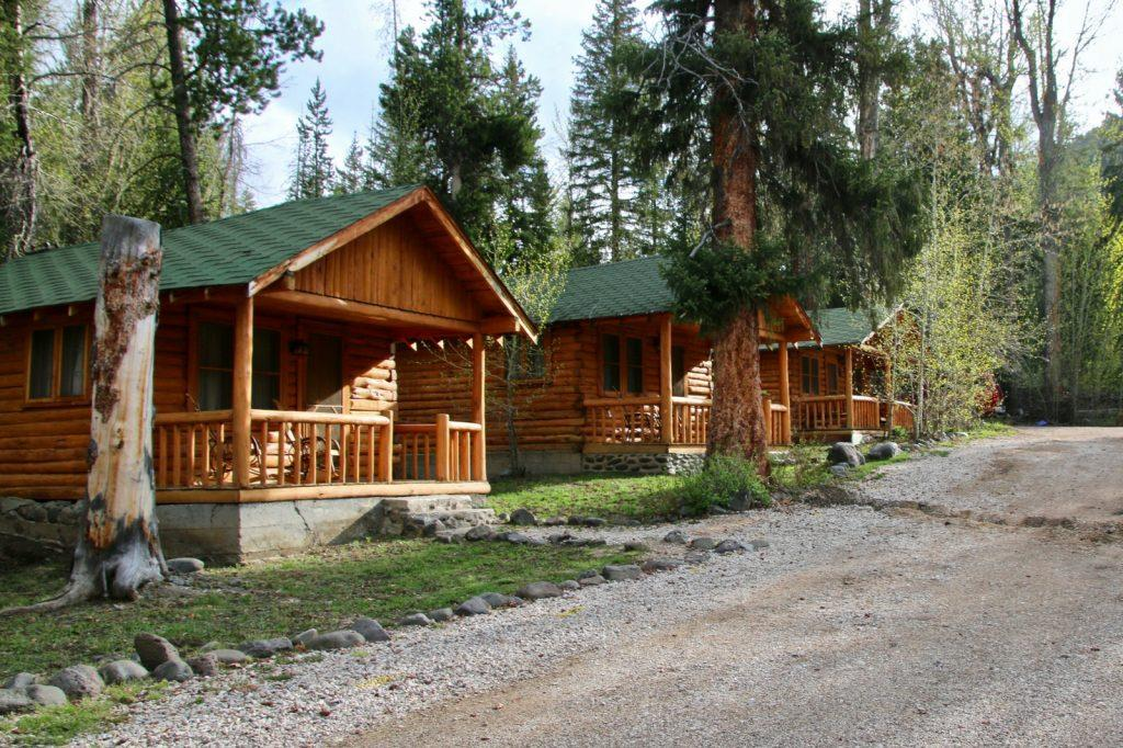 lodge, camping, where to stay in Yellowstone