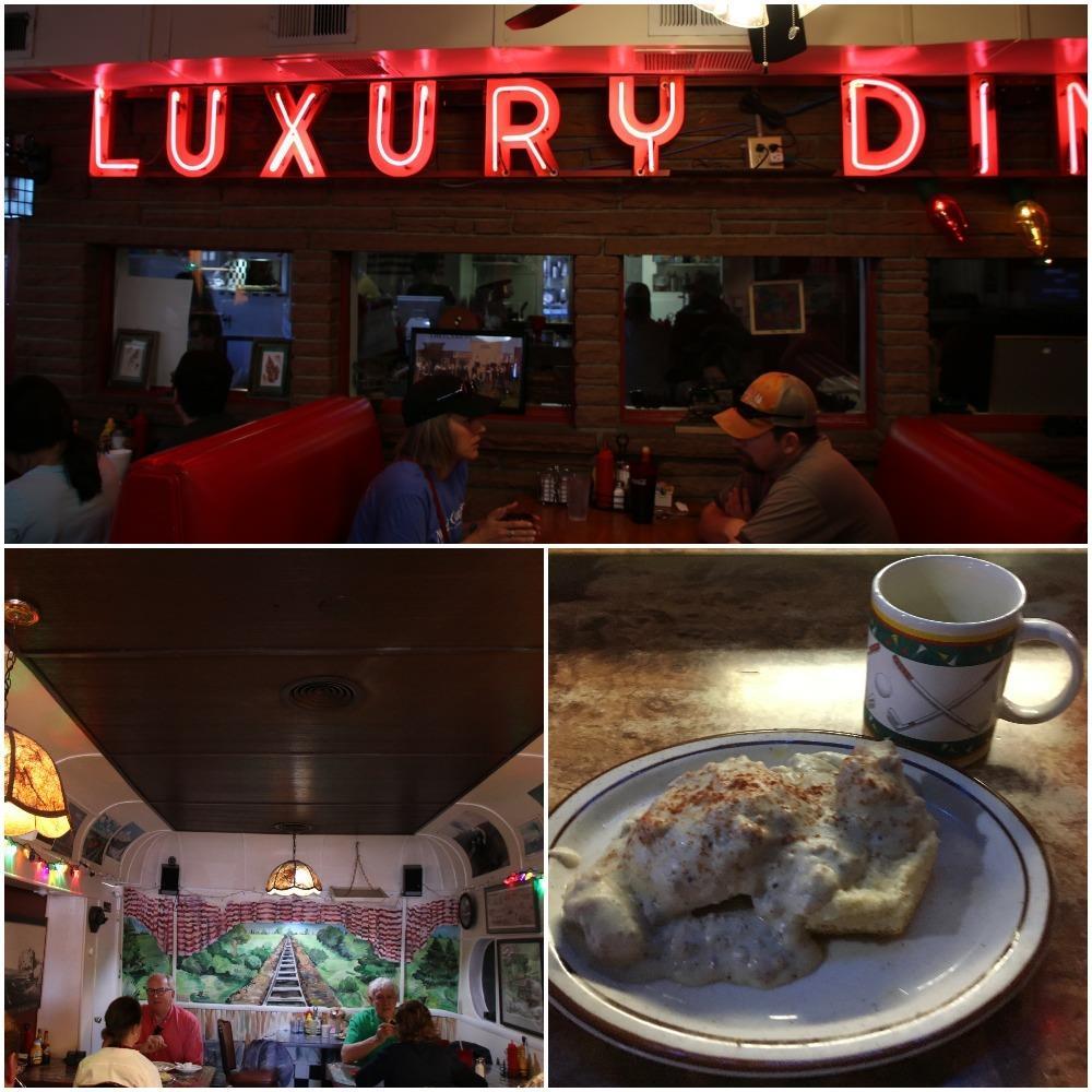 luxury diner, breakfast food, biscuits and gravy, breakfast cheyenne, things to do in cheyenne wyoming