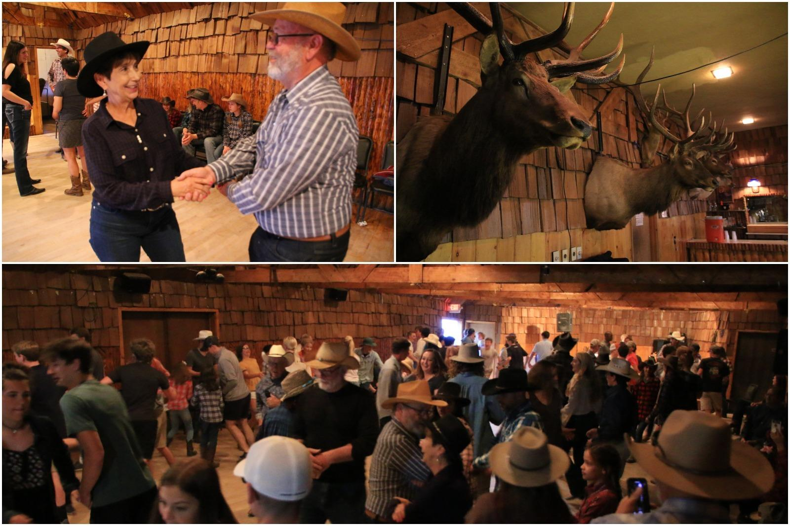 Square dancing in Dubois, one of the many things to do in Wyoming.