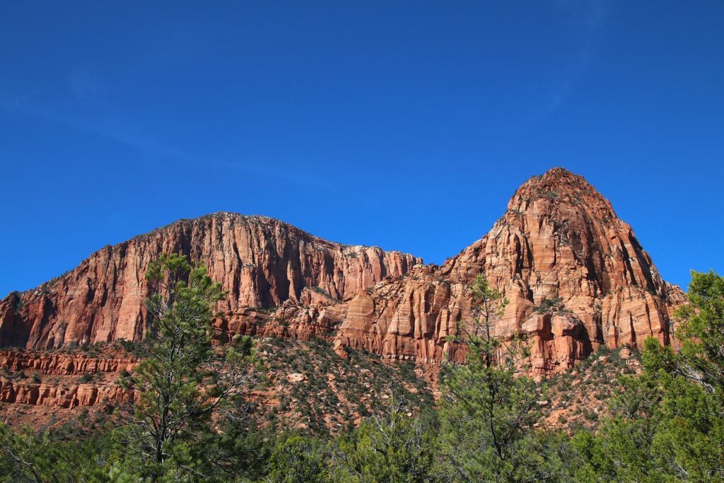 Zion National Park, north entrance, hiking, day hike, least crowded hike in zion