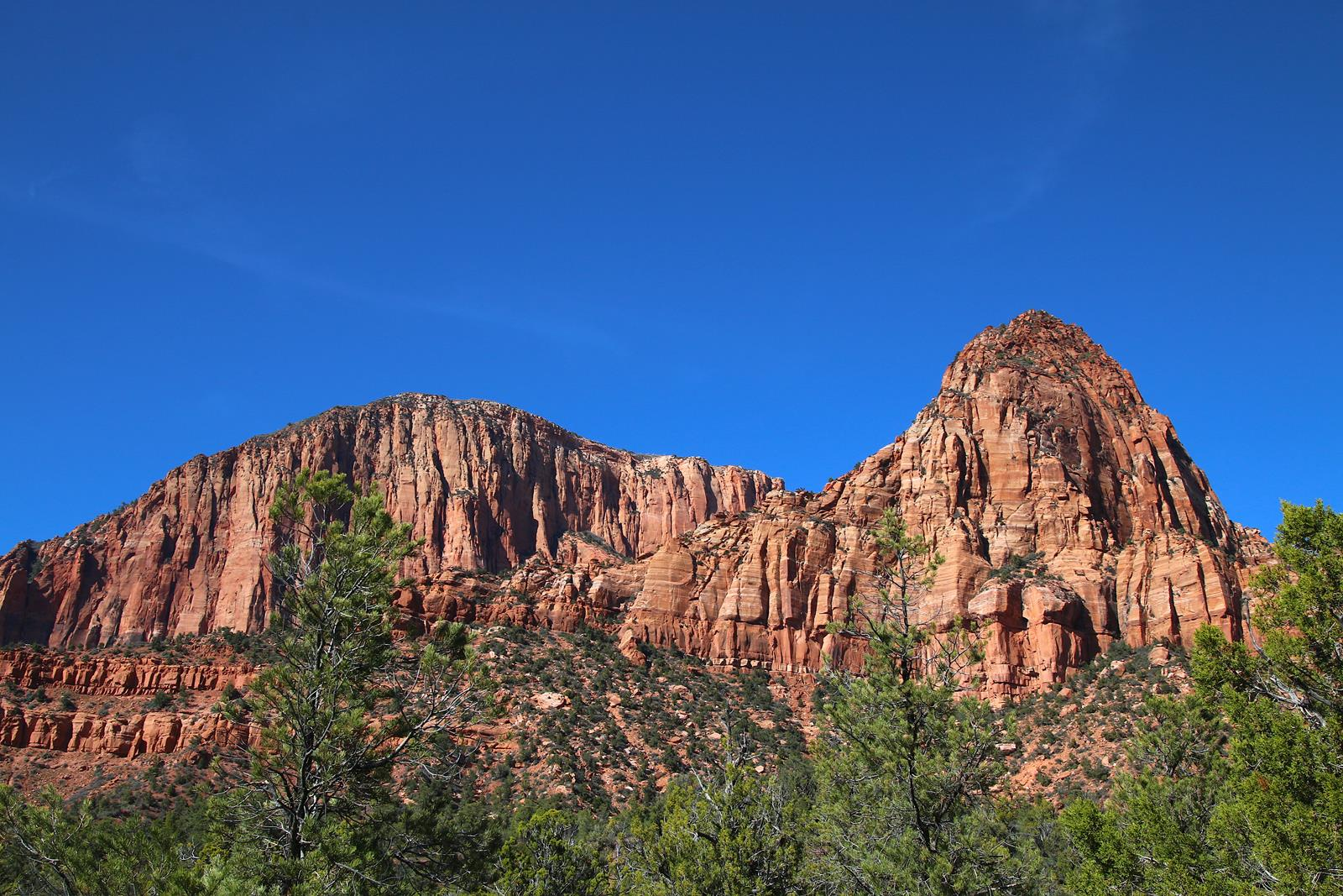 Zion National Park, north entrance, hiking, day hike
