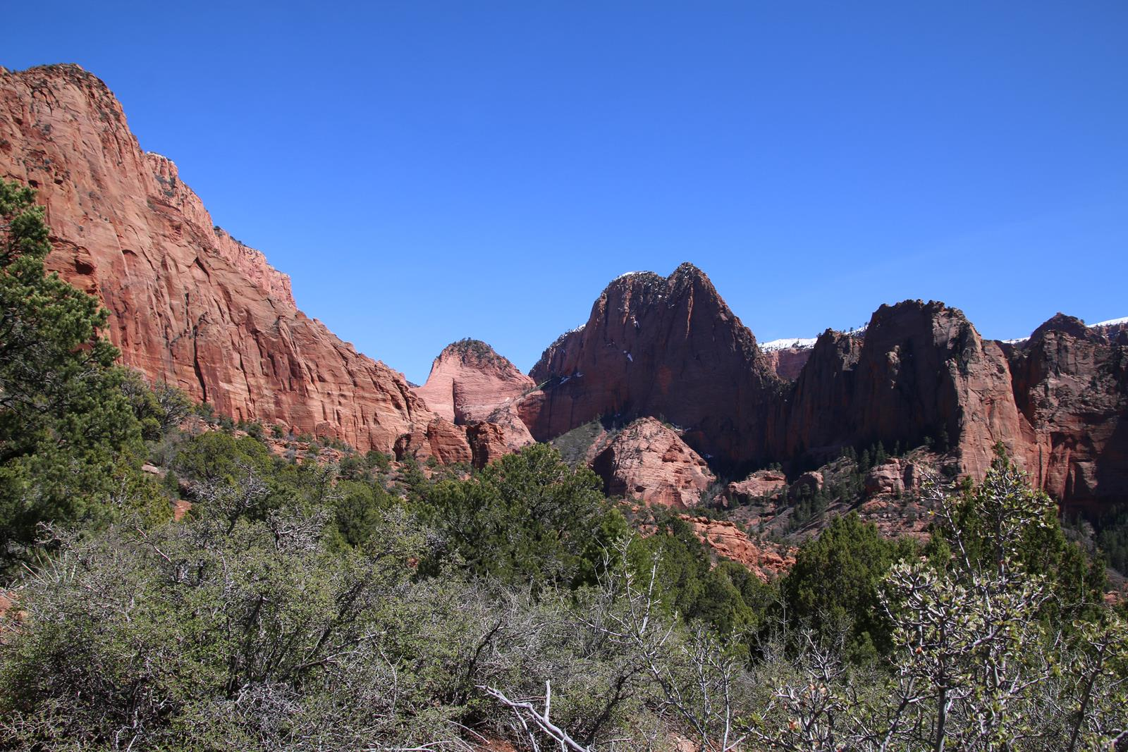 Kolob Canyons, in zion national park
