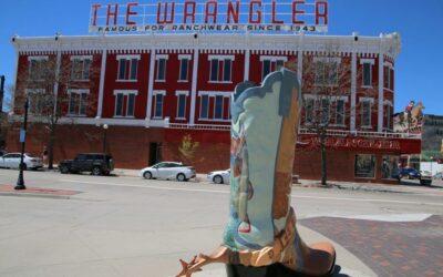 Feiere mit, bei den Cheyenne Frontier Days in Wyoming