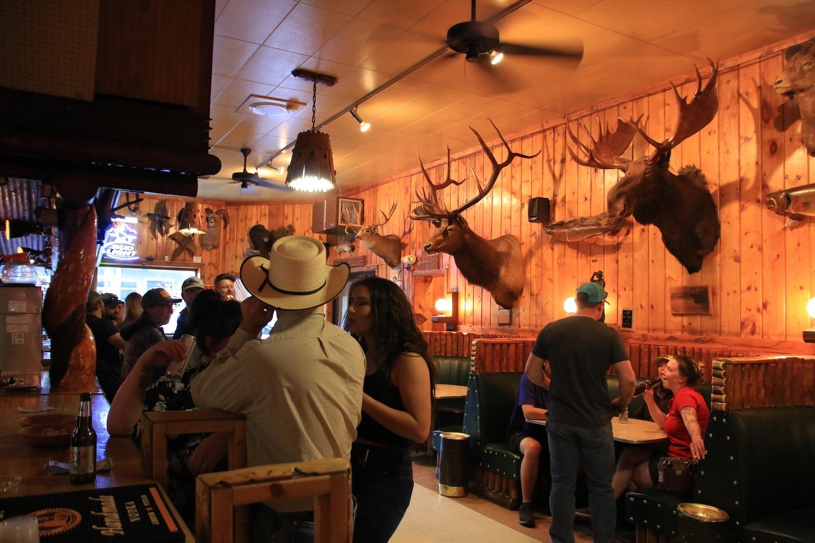 Rustic Pine Tavern in Dubois