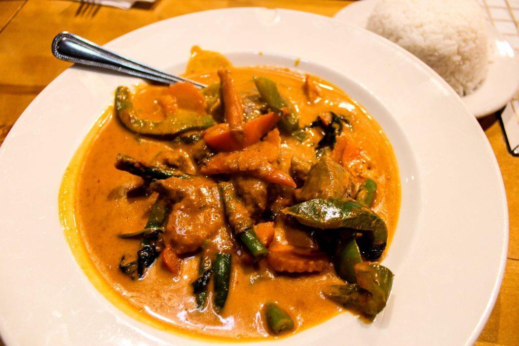 Chandler - Chon Thai Food-Panang Curry Beef