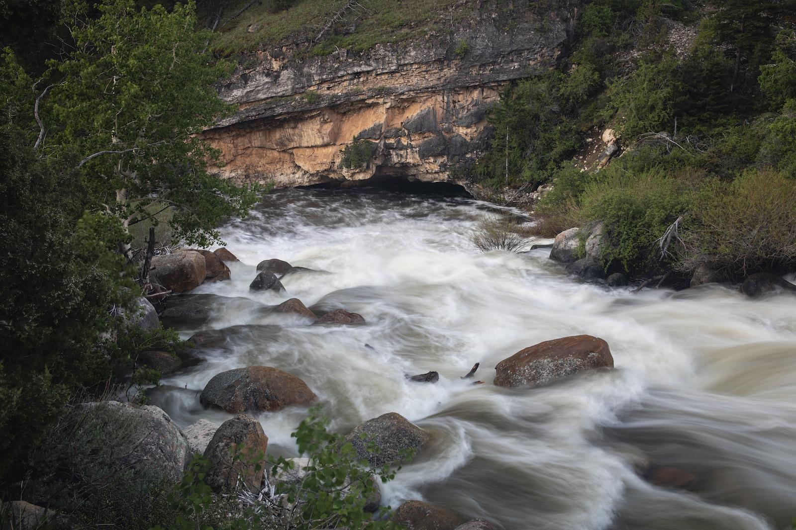 Sinks Canyon State Park, national forest, popo agie river, fly fishing, fly fishing wyoming