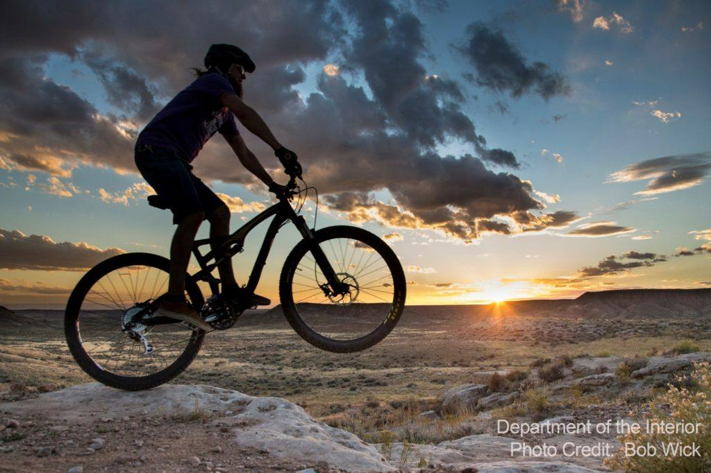 Vernal. Utah - Mountain biking