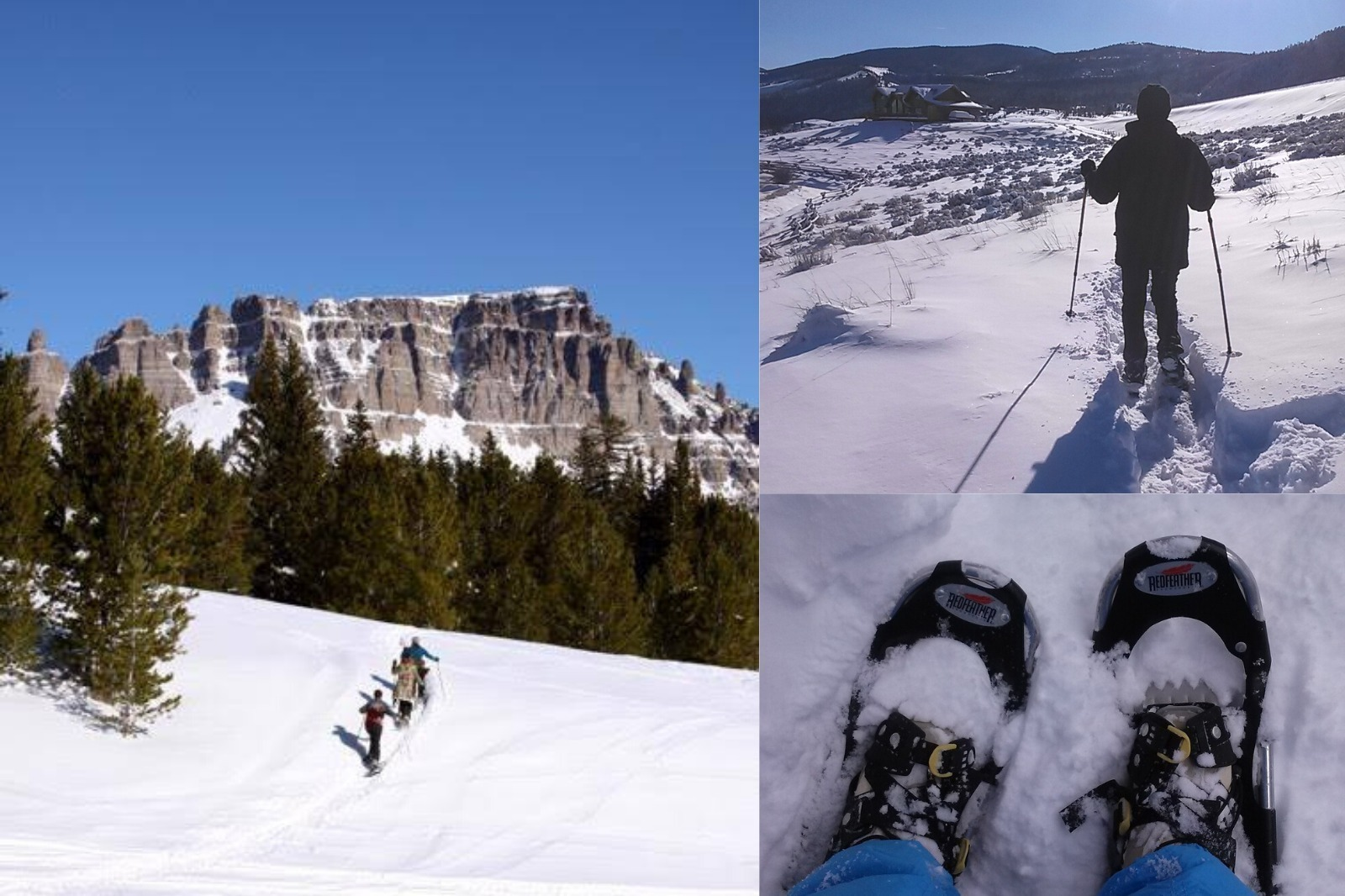 Dubois skiing and snowshoeing