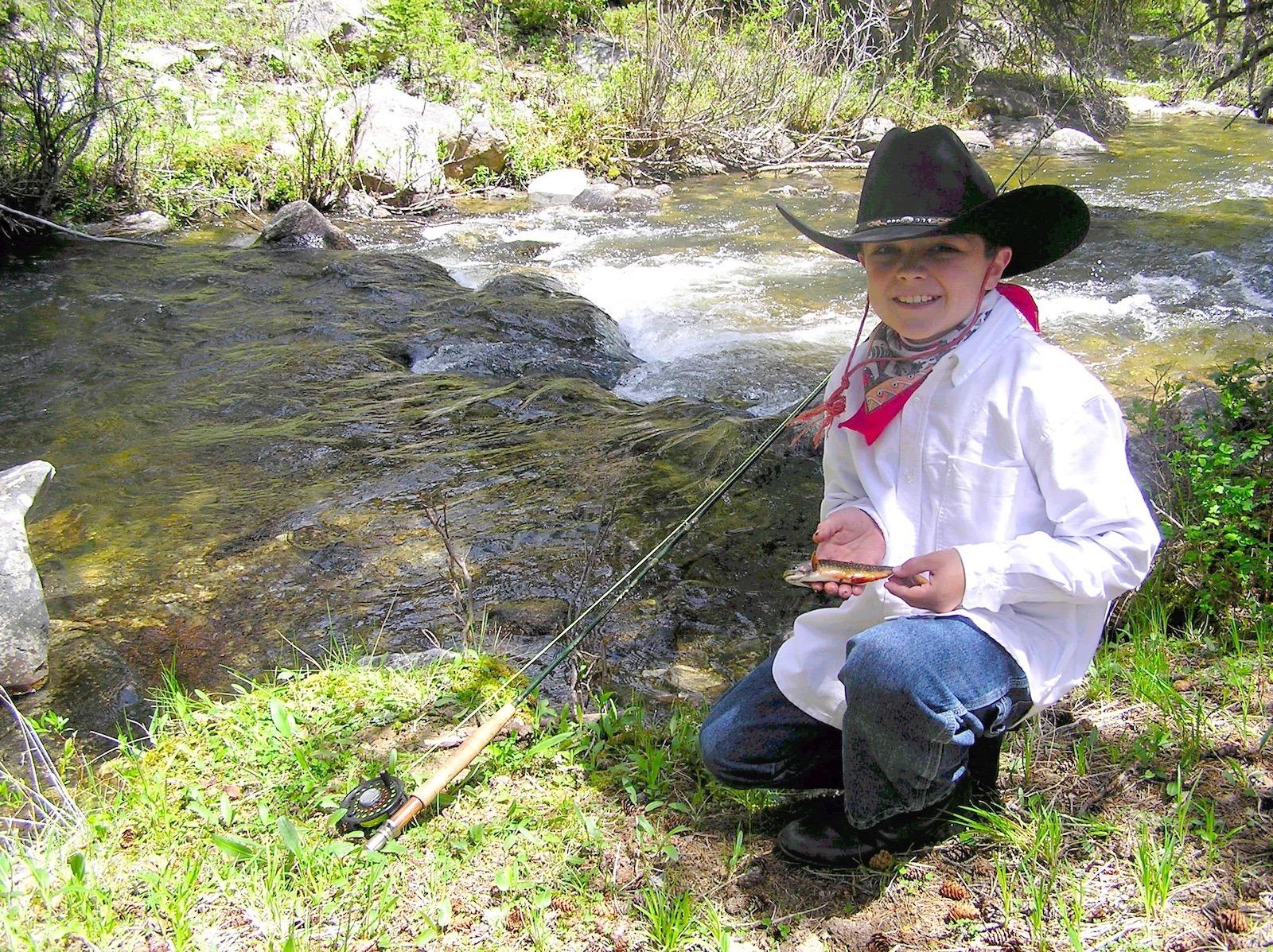 Fishing at Paradise Guest Ranch