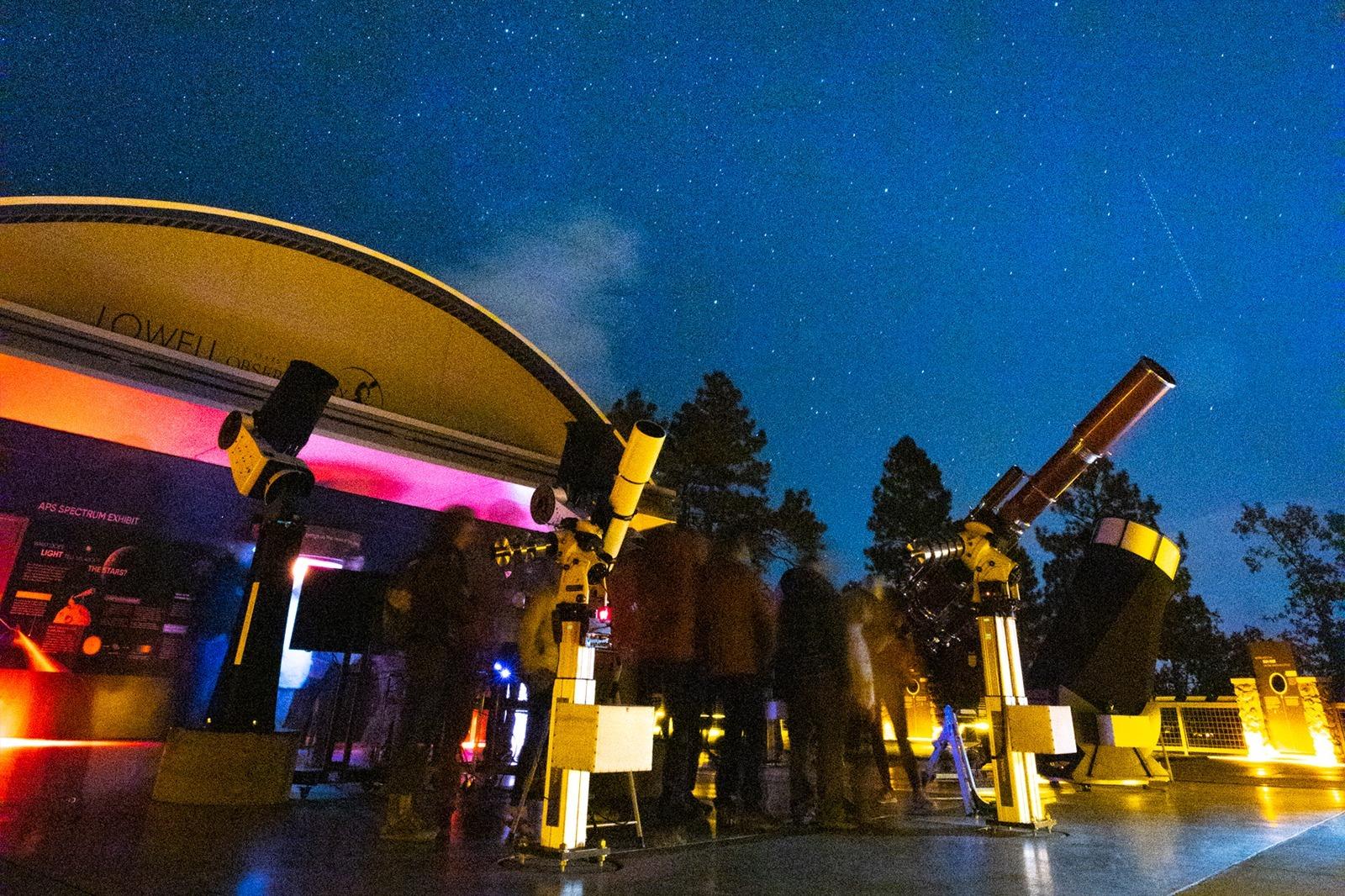 The Lowell Observatory in Flagstaff, AZ