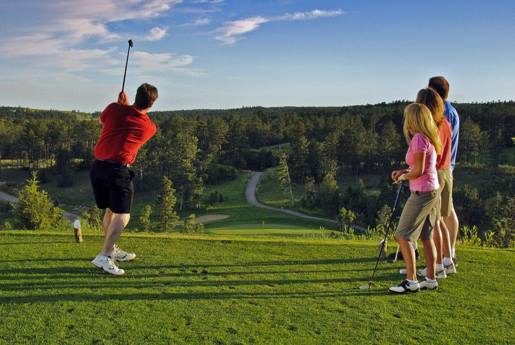Golfing in Hot Springs