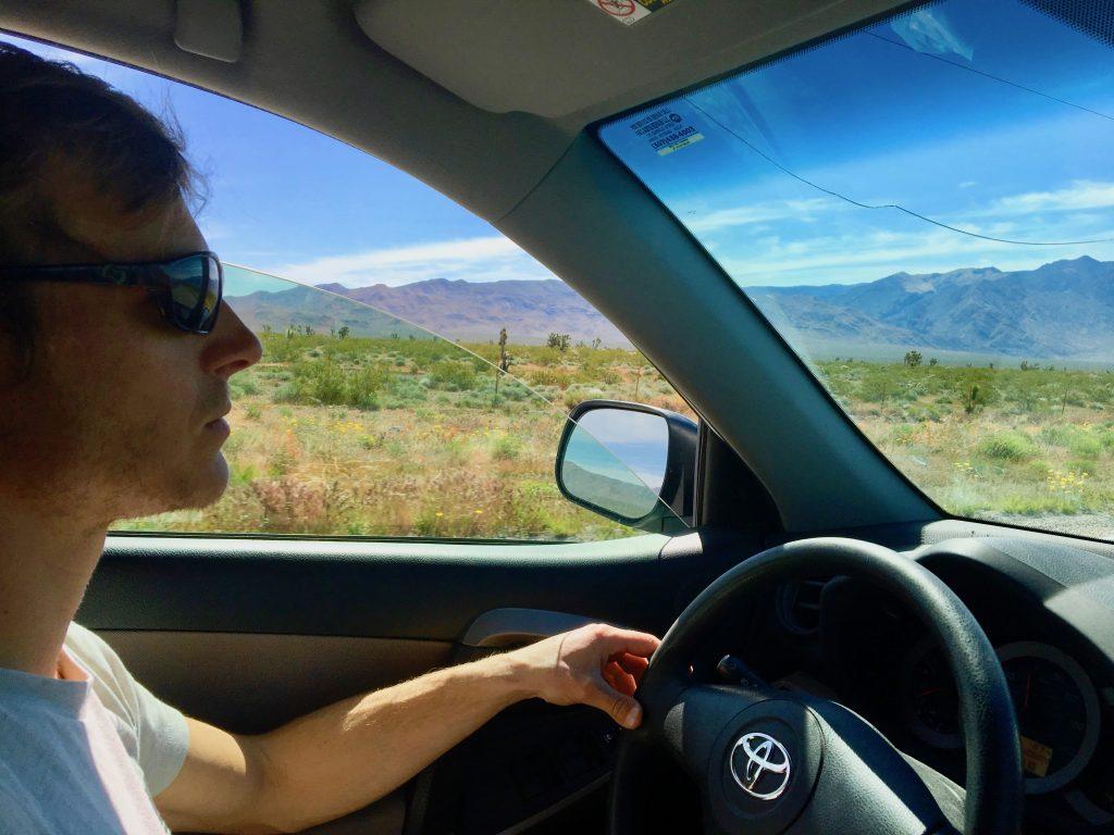 driving, utah, zion