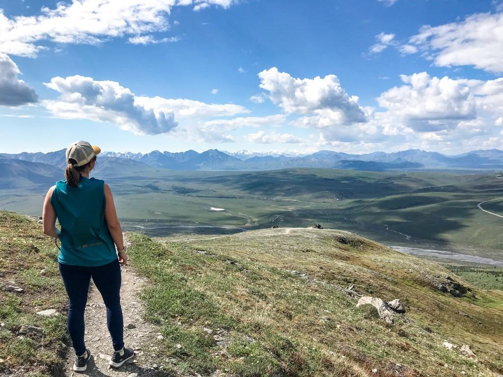 Hiking in Denali National Park