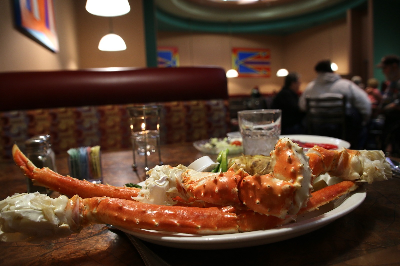 Crab dinner at Red Willow in Wind River Hotel & Casino