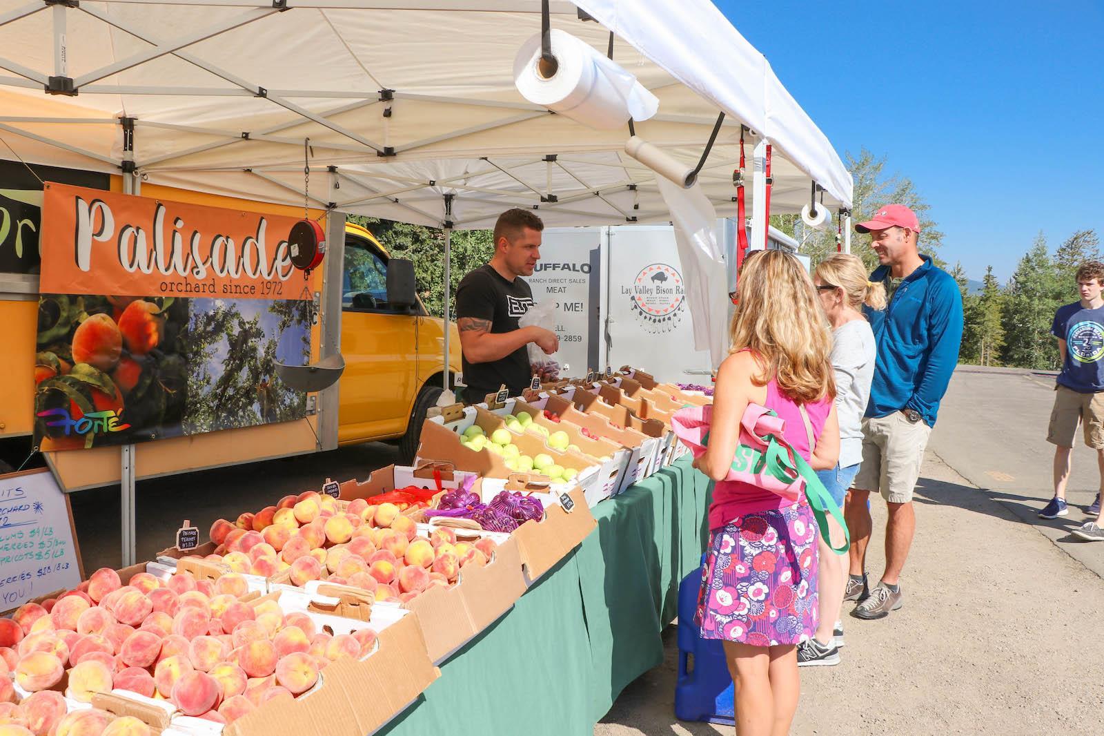 farmer's market in Colorado