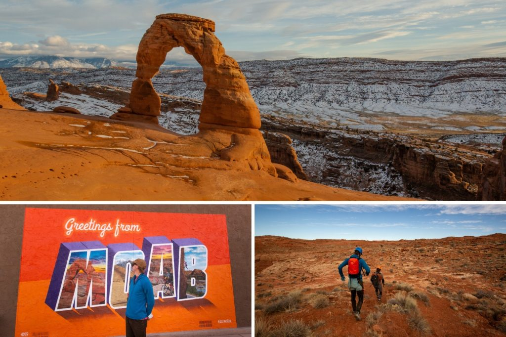 Collage of Utah National Parks