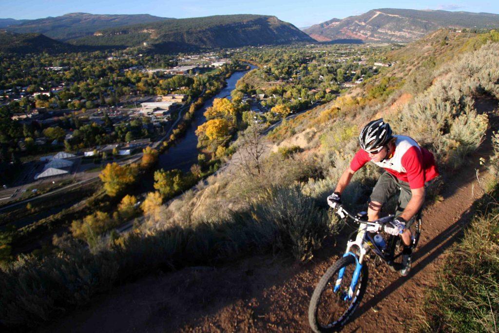 Mountain Biking Above Durango Colorado