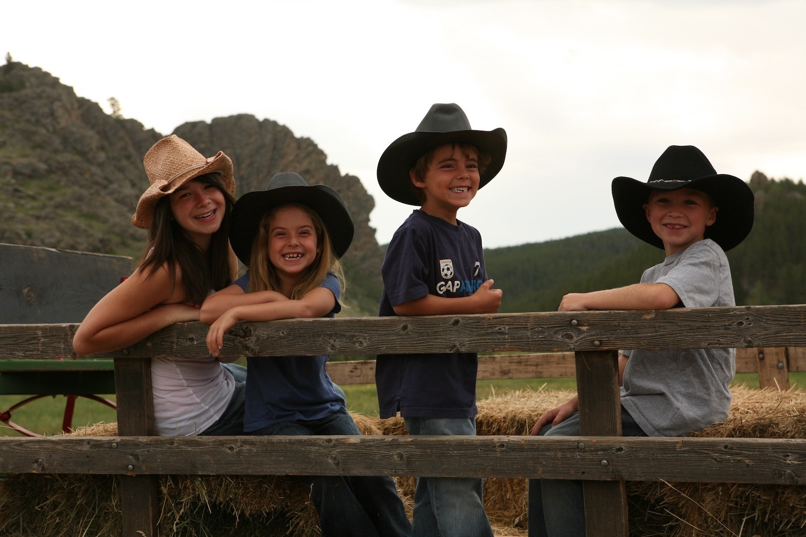 Kids love Dude Ranches
