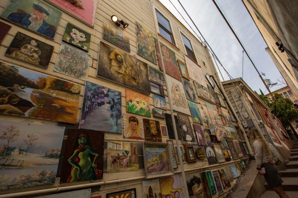 Alleyway in Bisbee