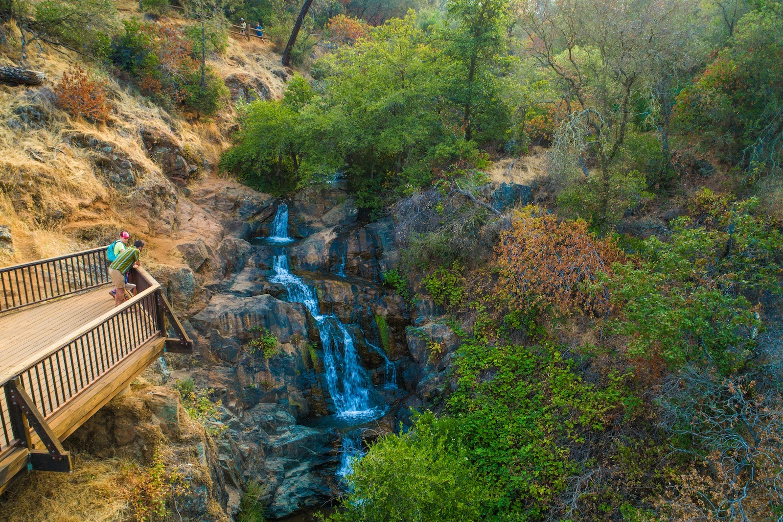 Hidden Falls in California's Gold Country