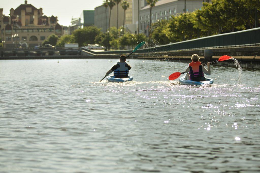 Visit Stockton Kayaking