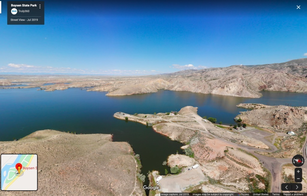 Virtual State Park tours in Wyoming