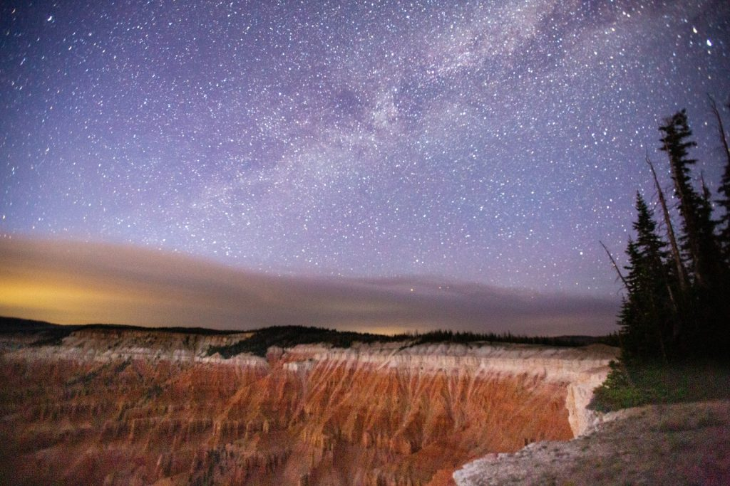cedar breaks hiking and stargazing as part of a mighty five road trip