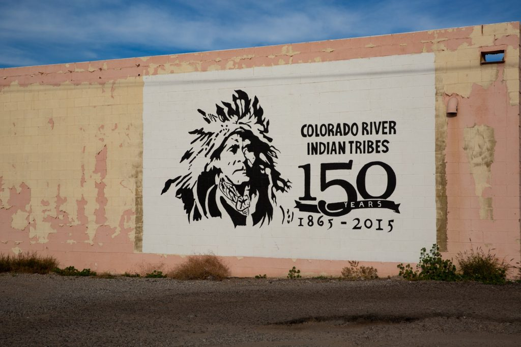 Colorado River Indian Tribes sign