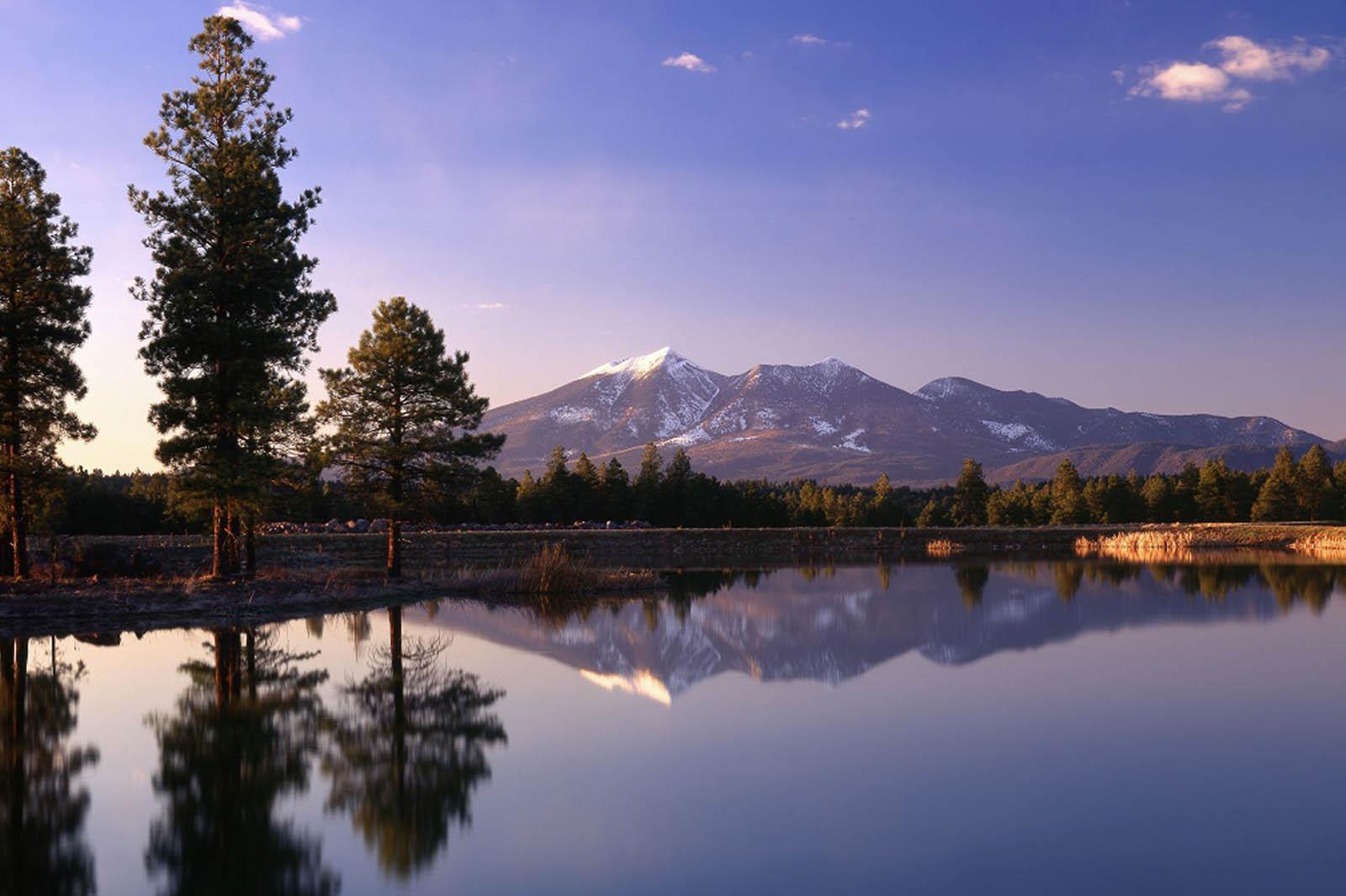Flagstaff, Arizona, mountain view