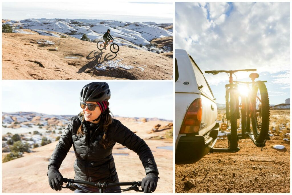 moab-utah-mountain-biking-slickrock-winter