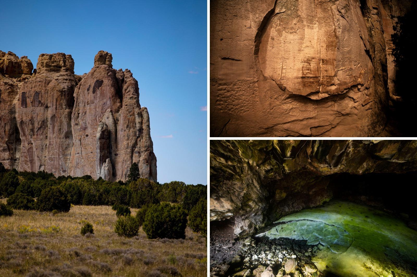 Grants, New Mexico - land of fire and ice