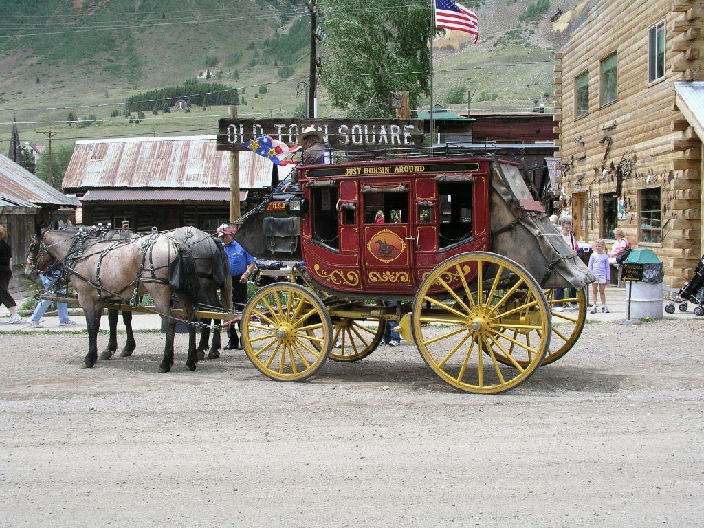 silverton Colorado stage coach historic shows Road Trip in America