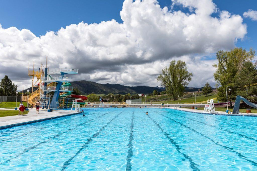 Lava Hot Springs, Idaho - Olympic Swimming Complex