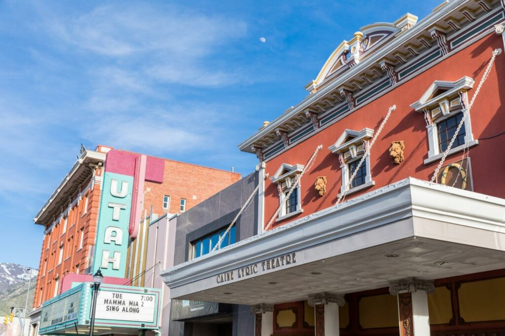 Downtown Logan Theatre - Cache Valley, Utah