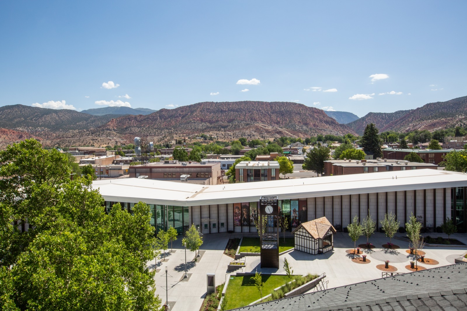 overview of cedar city, part of a mighty five road trip