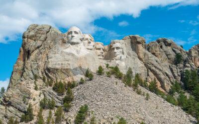 South Dakota: The Mount Rushmore State. Lawless Legends. Black Hills.