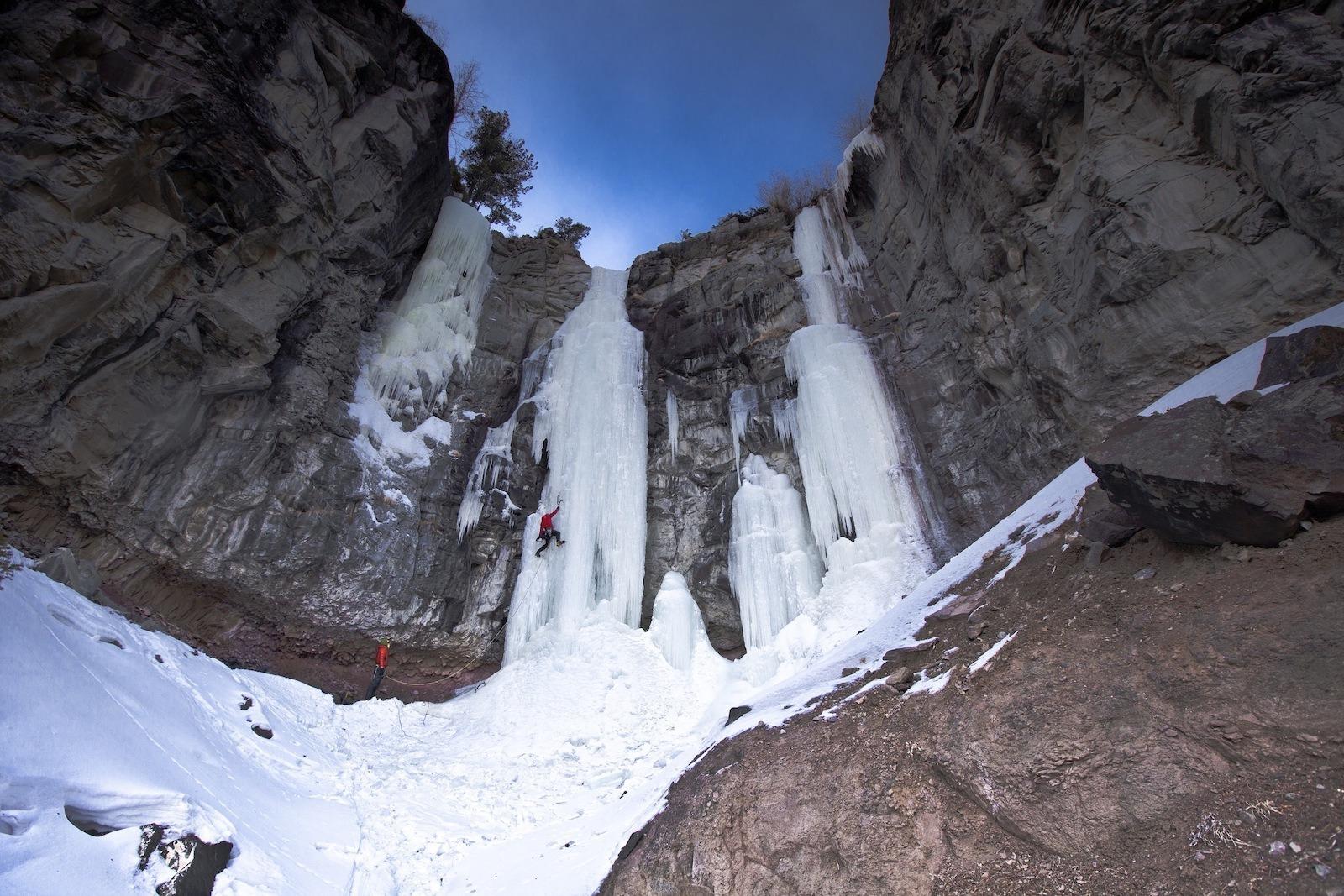 Cody Wyoming World-Class Ice Climbing