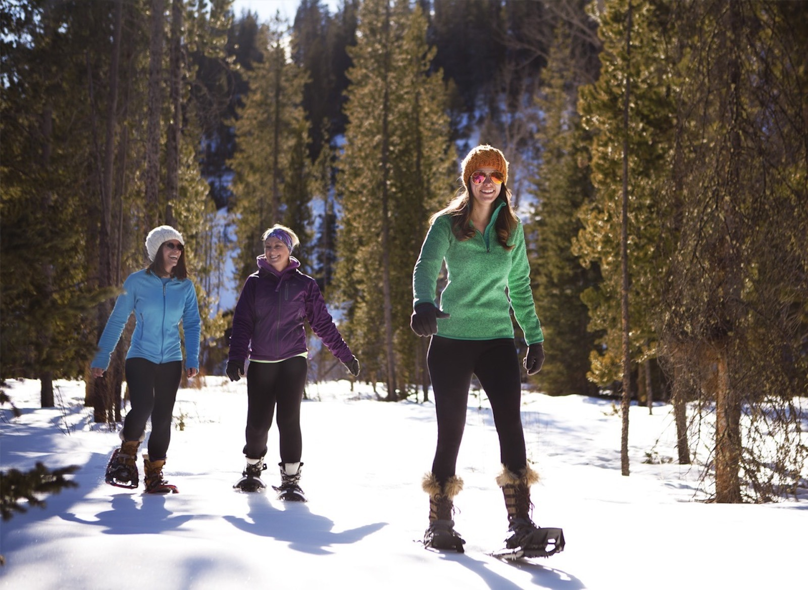 Snowshoeing Local Trails in Cody Wyoming