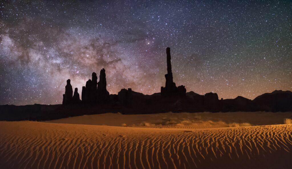 Totem Pole Monument Valley Arizona