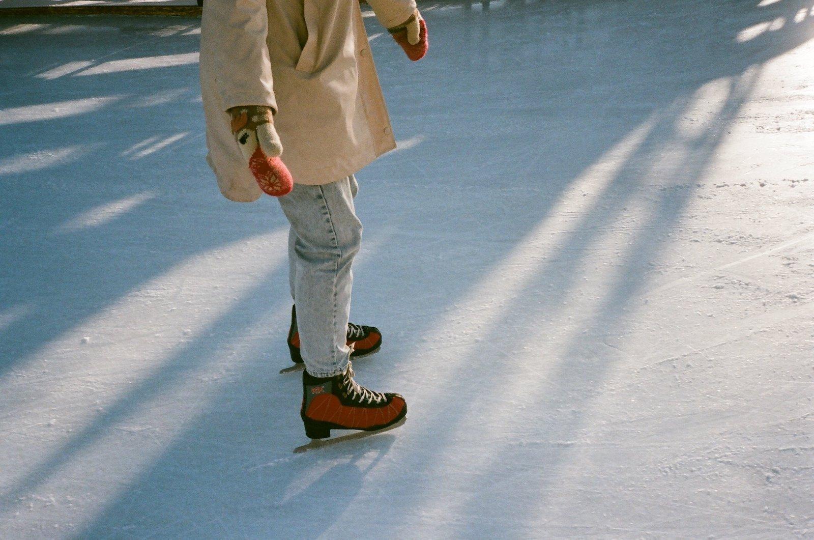 Ice Skate Cody Wyoming