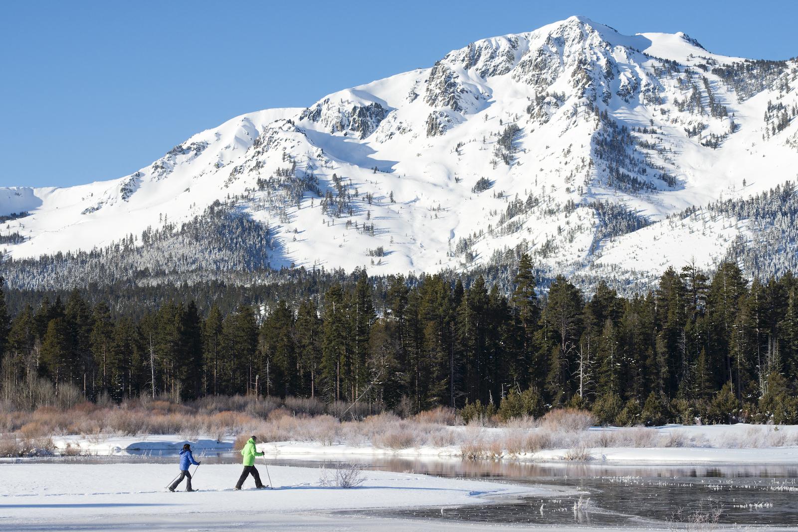 Snowshoeing in Tahoe South