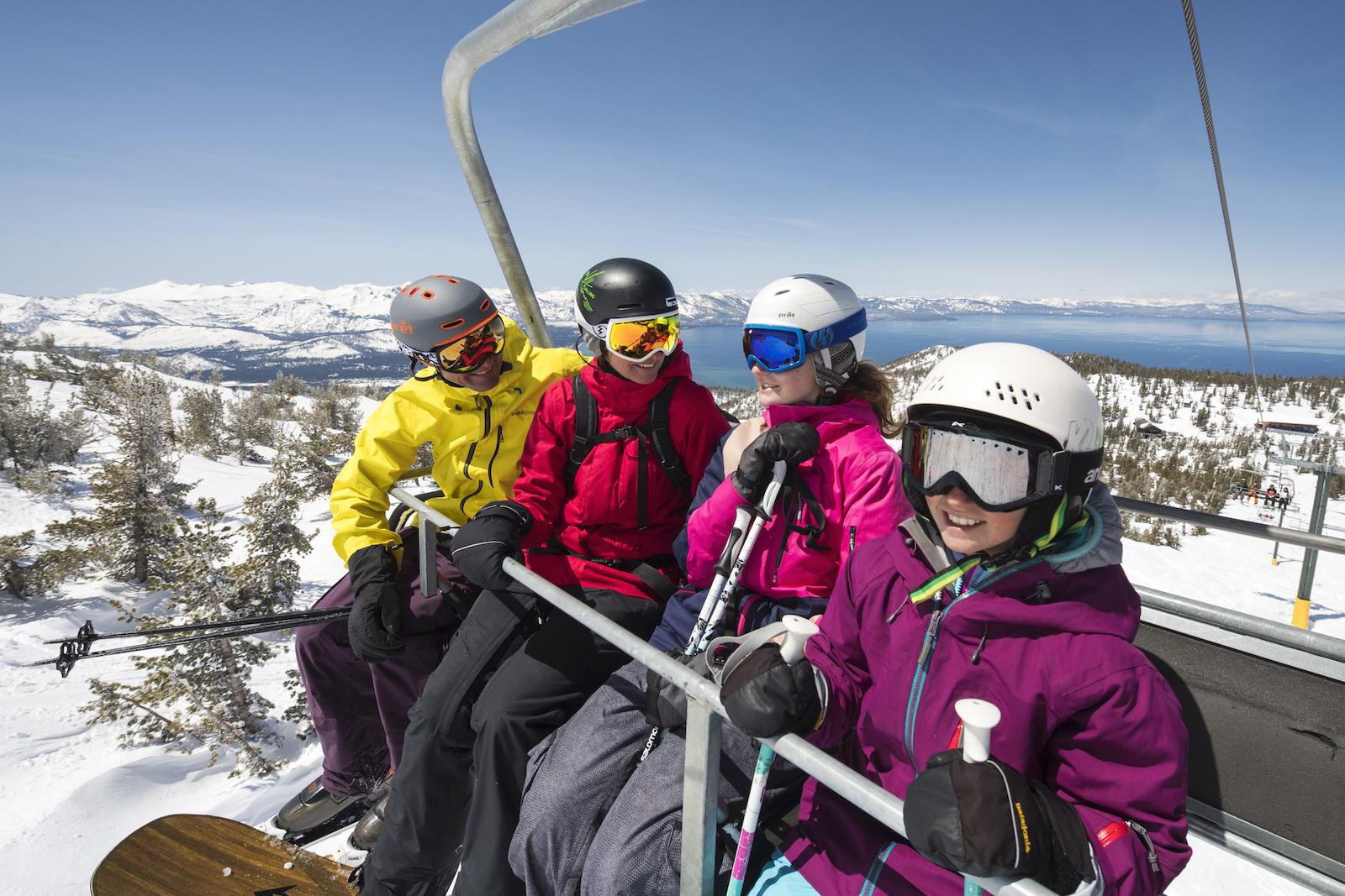 Ski South Lake Tahoe