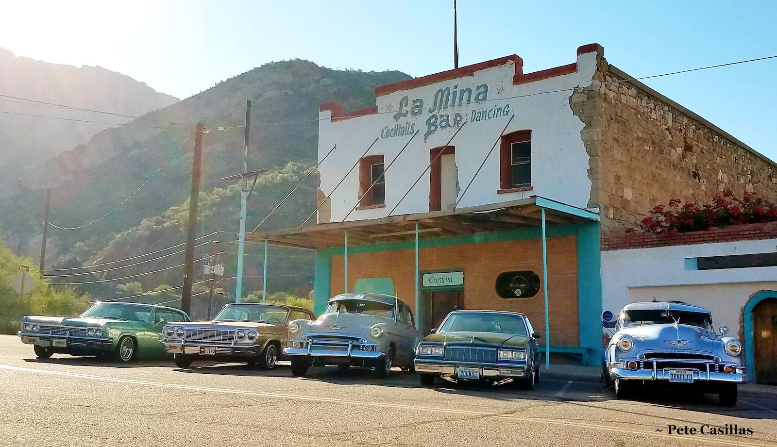 Main Street in Superior, Arizona, by Pete Casillas