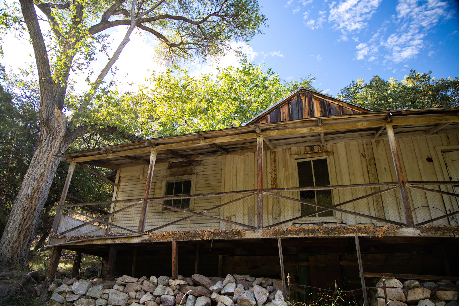 Historic Buildings in Ramsey Canyon Preserve, Sierra Vista